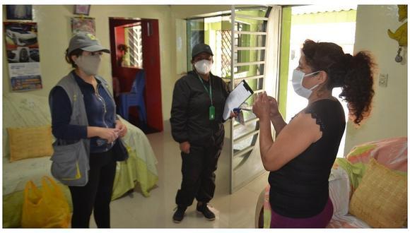 Fortalecen la prevención del COVID-19 en el distrito de Poroto con campañas informativas