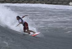 Sofía Mulanovich perdió en la fase 3 del surf de Tokio 2020 y quedó eliminada del torneo