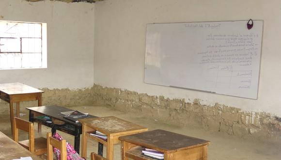 El Ministerio de Educación (Minedu) dio luz verde a 639 planteles de zona rural para volver a las aulas y que deban cumplir con los requisitos de bioseguridad. (Foto: Oskar Natteri / GEC)
