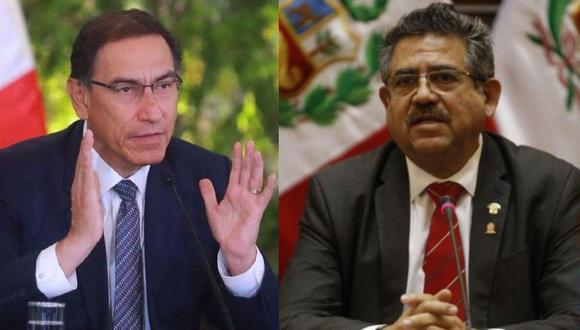 Martín Vizcarra podría afrontar 10 años de inhabilitación en la función pública. (FOTOS: GEC)