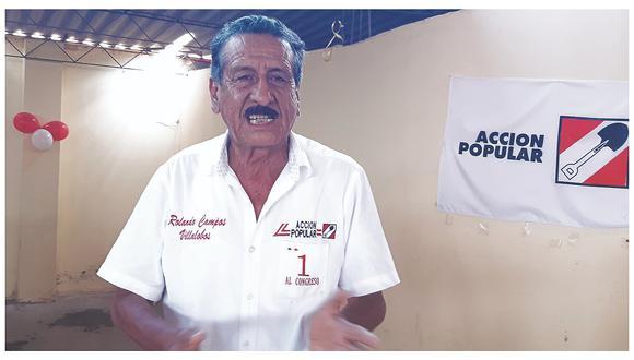 """Rolando Campos: """"Lamento el comportamiento de mi bancada"""""""