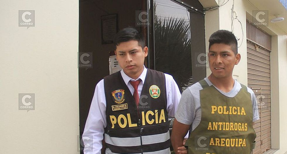 Capturan a huancavelicano con 7 kilos de droga