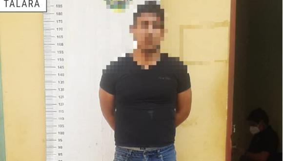 Intervienen a sujeto que asaltó un agente de cobranza y se llevó más de 4 mil soles en Piura. (Foto: Municipalidad Provincial Talara)
