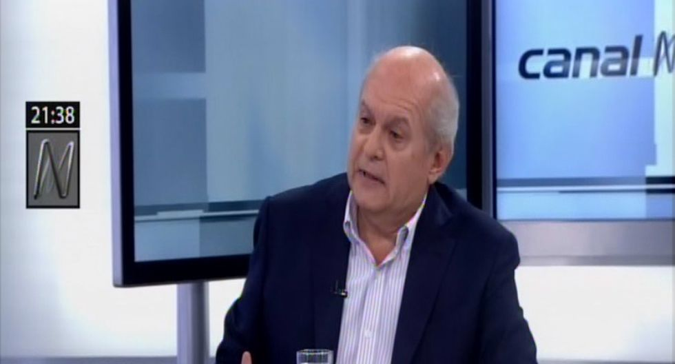 Pedro Cateriano (Foto: Captura Canal N)