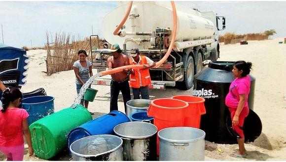El sector Vivienda ordena abastecer de agua a los damnificados