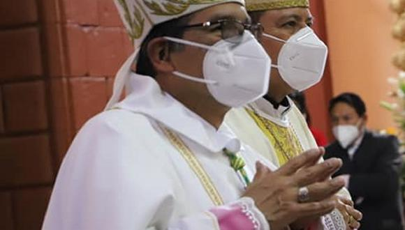 Nuevo obispo de Huancavelica, monseñor Carlos Salcedo.