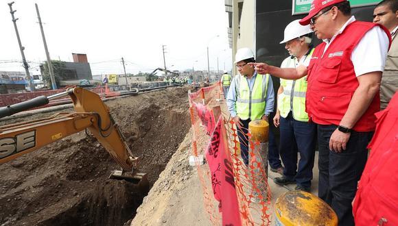 SJL: Ministro de Defensa señala que el miércoles se restablecería el servicio de agua potable