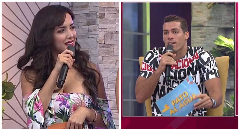 """Patricio Parodi llama """"mamarracho"""" a Rosángela Espinoza y conductores lo regañan en vivo (VIDEO)"""