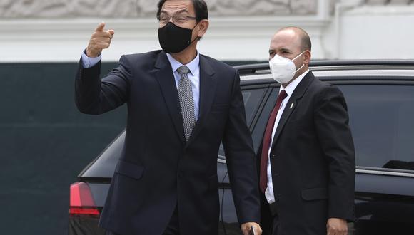 Martín Vizcarra indicó que a través del Ministerio del Interior se atendió el pedido de protección de parte de las fiscales.  (Foto: Archivo de GEC)
