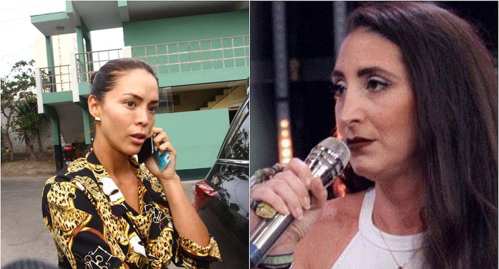 Hermana de Antonio Pavón se molesta porque Sheyla Rojas no llegó a Lima con su hijo