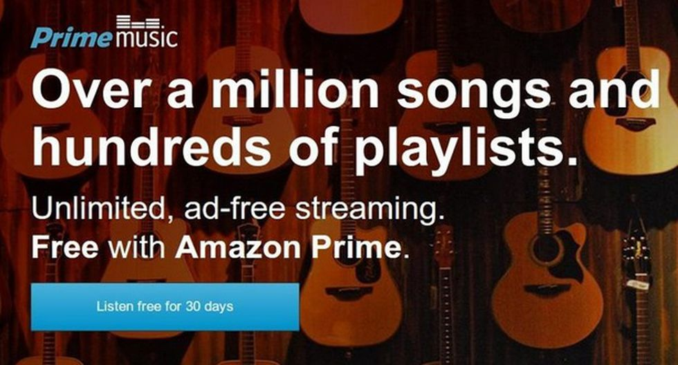 Amazon lanzó su servicio de música