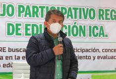 Ica: Director de Educación pide más compromiso de padres para educación remota