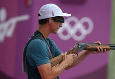 Peruano Alessandro de Souza cerró con puntaje perfecto la serie 3 de tiro en Tokio 2020