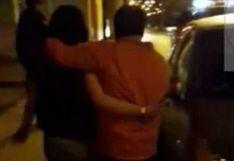 Sorprenden a una joven pareja en actos contra el pudor