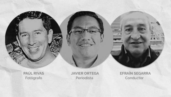 Medios colombianos habrían confirmado la muerte de los 3 periodistas ecuatorianos secuestrados por las FARC