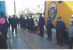 Policías municipales acatan paro y exigen pruebas de descarte