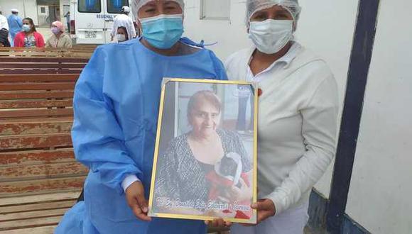 Huánuco: rinden homenaje a trabajadores del hospital Hermilio Valdizán fallecidos por COVID-19 (Foto: Gore Huánuco)