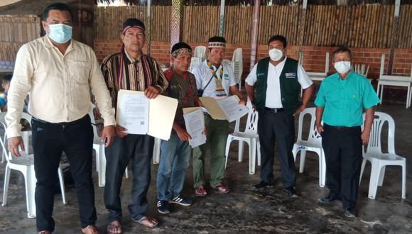 Loreto: El Midagri entregó títulos de propiedad en 15 comunidades nativas de la selva en zonas postergadas y fronterizas con Ecuador, en la región Loreto.
