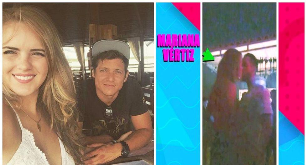 Mariana Vértiz fue captada besando a joven tras el fin de su relación con Gino Pesaressi (VIDEO)