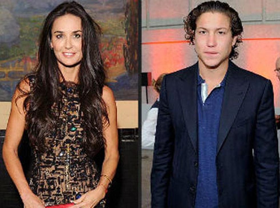 Demi Moore tiene nuevo novio y más joven que Ashton Kutcher