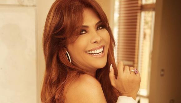Magaly Medina viajó a Miami tras anunciar separación.