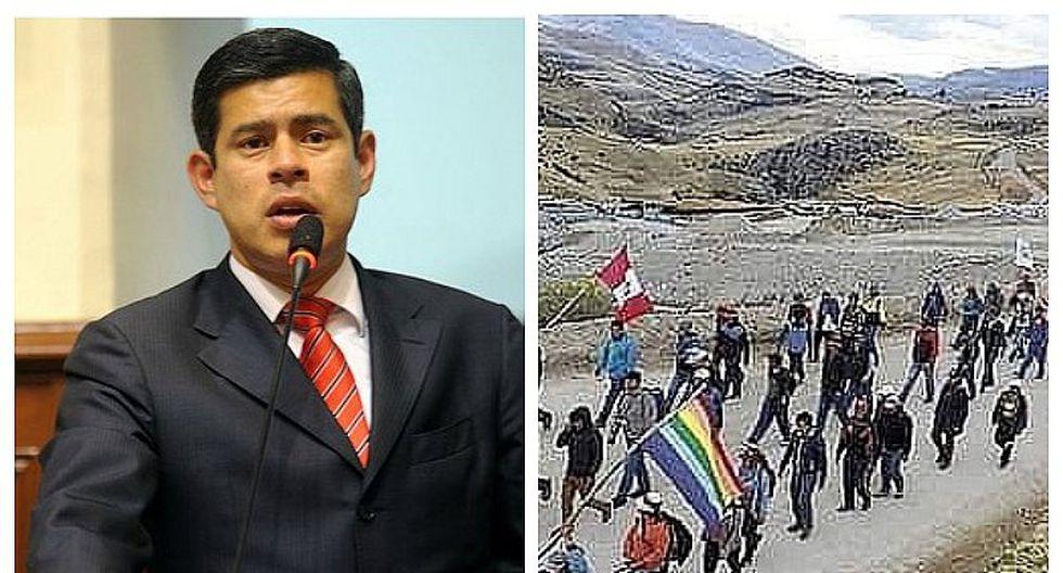 Luis Galarreta consideró peligroso una eventual ley de amnistía para comuneros de Las Bambas
