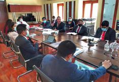 Funcionarios del GRA sustentan prioridades del 2021 ante el Consejo Regional