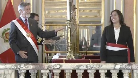 Presidente Francisco Sagasti encabezó la ceremonia de juramentación de sus ministros de Estado en el Salón Dorado de Palacio de Gobierno.