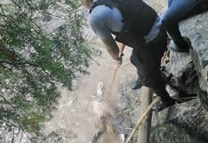 Río Mantaro devuelve cadáver en Anco
