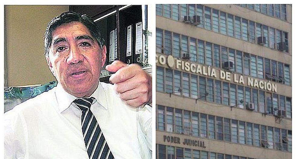 Avelino Guillén considera necesario que se aumente el presupuesto de la Fiscalía de la Nación