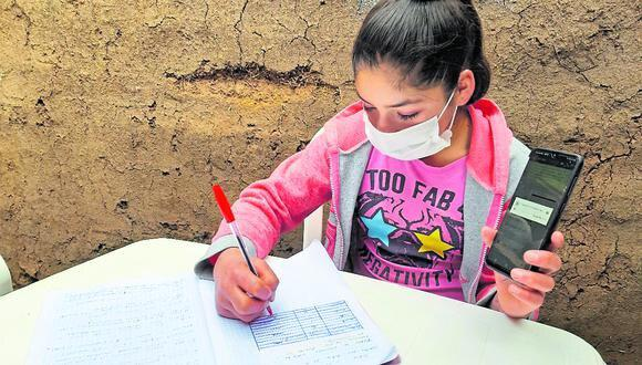 Familia planeaba trasladarse de Chongos Alto a Huancayo, buscando internet para que hijos puedan seguir clases virtuales. (Imagen referencial)