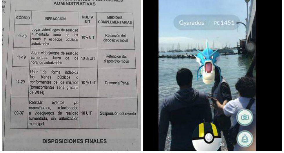 Pokémon GO: La Punta sancionará con multas y denuncias a jugadores infractores (FOTOS)