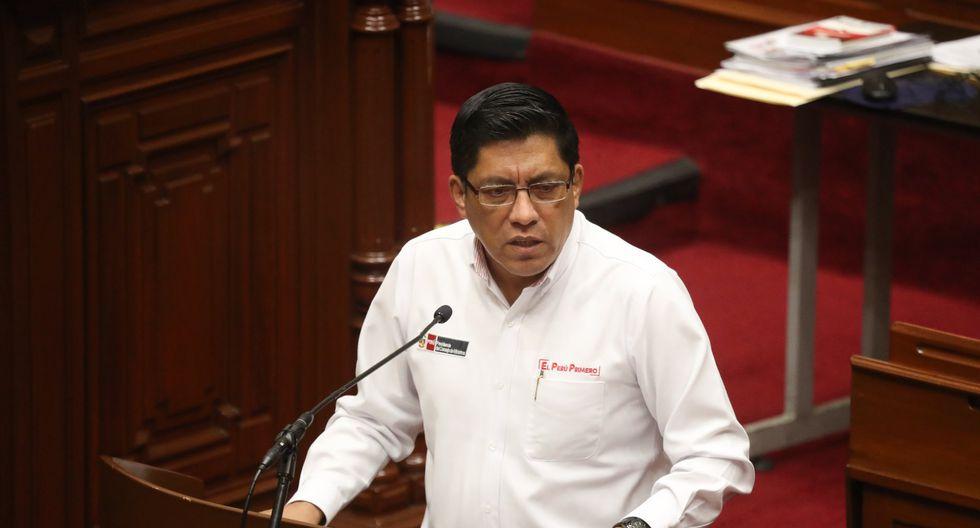 """""""Debemos darle un mensaje al país que el Parlamento y el Ejecutivo pueden trabajar juntos, sobre todo en esta emergencia"""", señaló Zeballos. (Foto: PCM)"""
