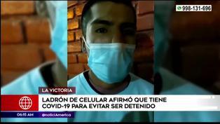 """Delincuente dijo estar con COVID-19 para no ser detenido: """"Tengo dos hijos"""""""