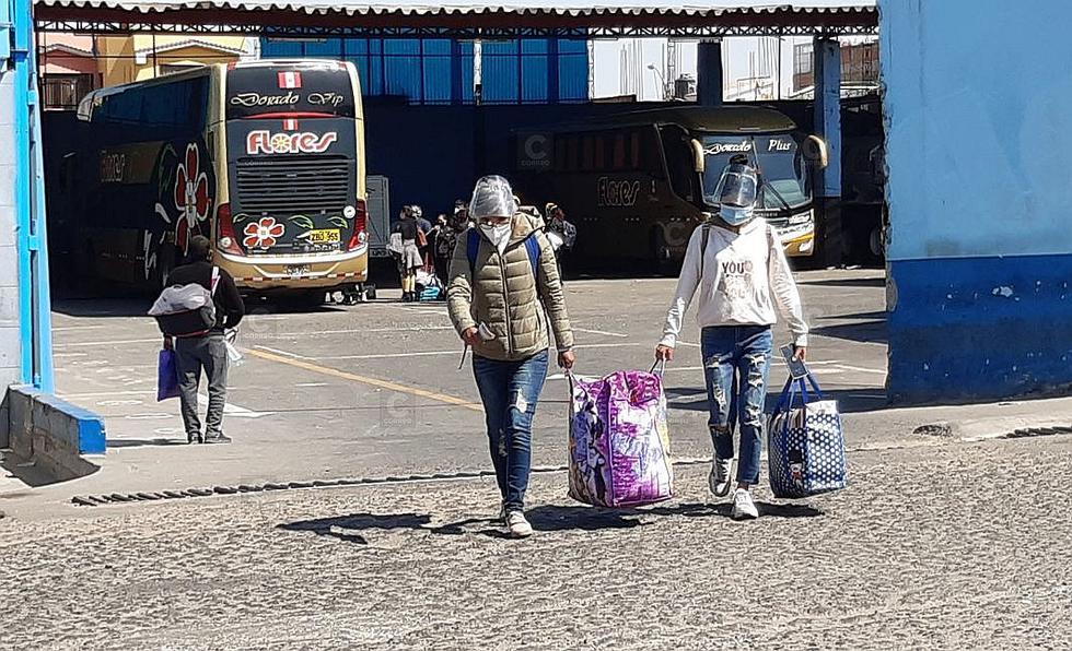 Buses llegaron a Tacna pese a estar cerrado terminales