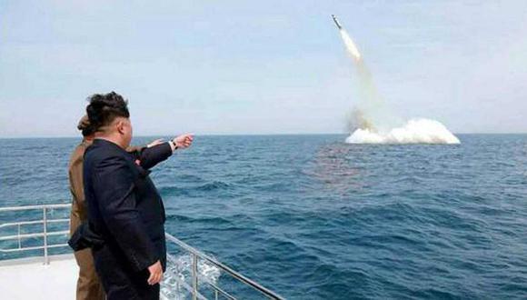 Corea del Norte disparó dos misiles balísticos, según Seúl