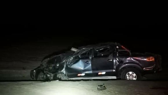 Ica: joven universitaria muerte en un accidente de tránsito en Palpa.