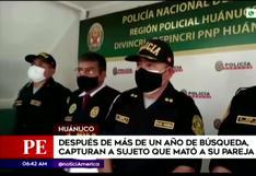Intervienen en Huánuco a feminicida a quien buscaban hace más de un año