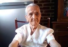 """Abuelita de 87 años pide que la sigan en Youtube y vean sus videos para poder sobrevivir: """"Necesito de su ayuda"""""""