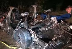 EE.UU.: investigan el accidente mortal de un Tesla sin nadie al volante