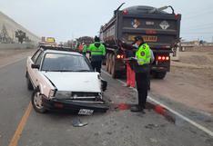 Triple choque deja varios heridos en Camaná