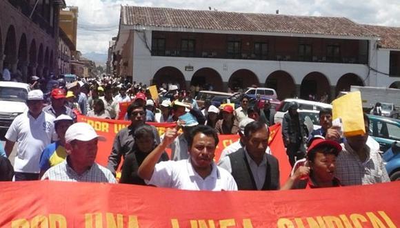 Frente de Defensa del Pueblo de Ayacucho acata paro