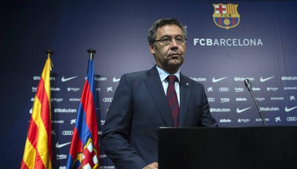 Josep Maria Bartomeu, expresidente de Barcelona, quedó en libertad provisional. (Foto: AFP)