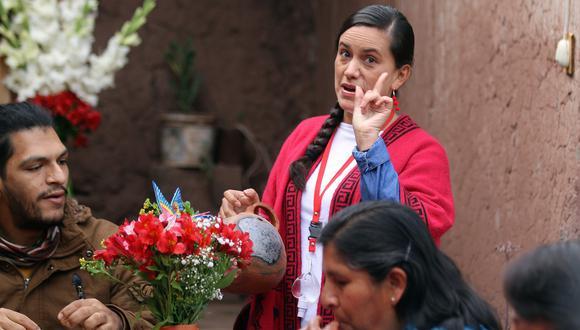 Verónika Mendoza es la presidenta del movimiento Nuevo Perú y postuló por segunda vez a la Presidencia del Perú. La primera ocasión fue en el 2016. (Foto:  GEC)