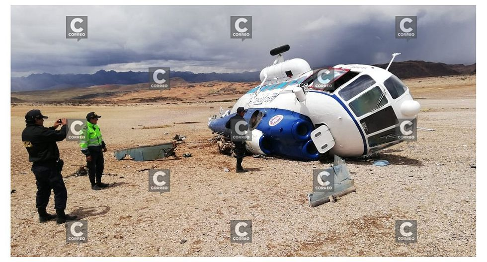 Turistas ucranianos son hallados luego de aterrizaje forzoso de helicóptero
