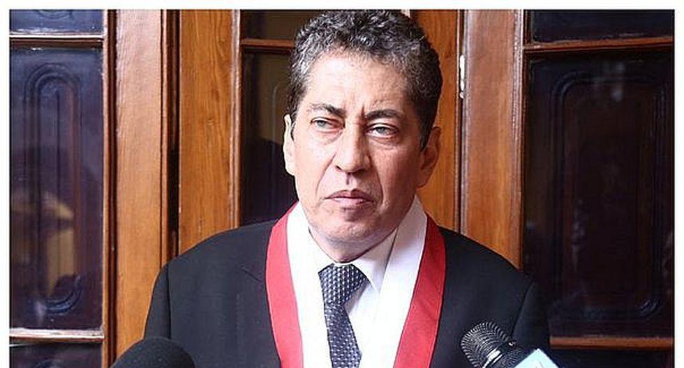 Tribunal Constitucional: Tambalea elección de Eloy Espinosa-Saldaña
