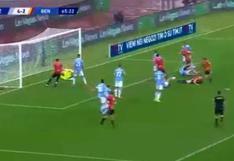 Gianluca Lapadula fue impedido por el VAR de gritar gol con Benevento (VIDEO)