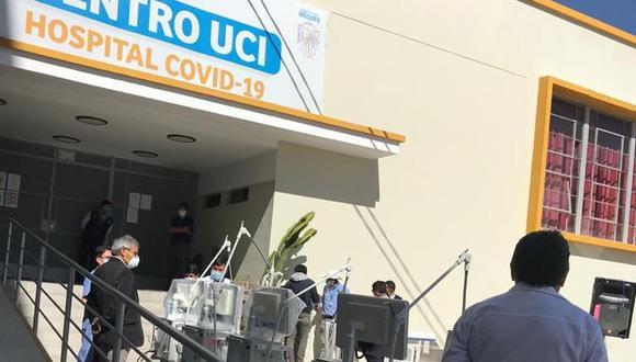 Sospechosos del denominado caso Tráfico de Camas UCI siguen detenidos para las investigaciones. (Foto: Correo)