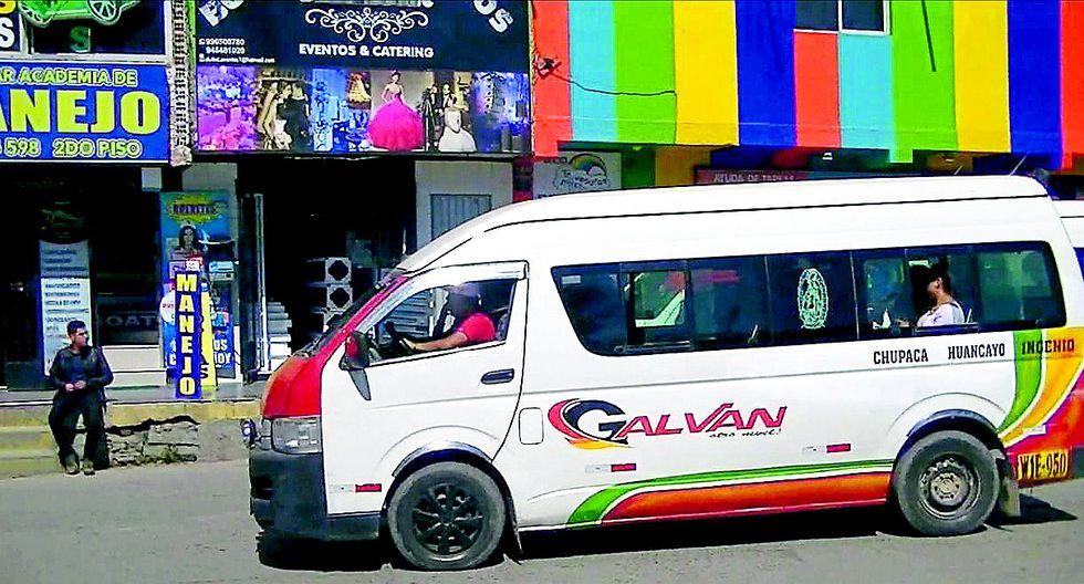 Tres empresas de transporte suspendidas por incumplir la norma