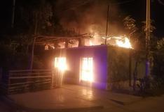 Ica: Humilde vivienda quedó en cenizas tras voraz incendio en el distrito de Parcona